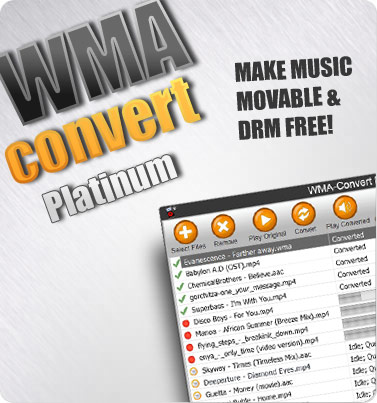 Protected wma to mp3 converter
